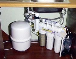 Установка фильтра очистки воды в Красноярске, подключение фильтра для воды в г.Красноярск